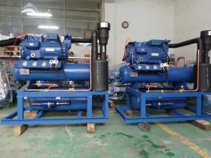 Bock Multi Compressor Condensing Unit for Industrial Refrigeration
