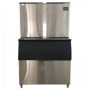 Commercial cube ice machine