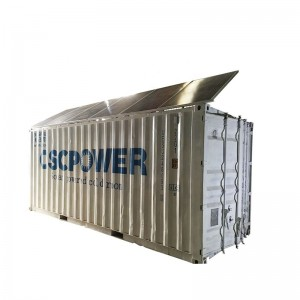 20ft Mobile Container Best Solar power cold storage room for fish meat vegetable,ice store Solar cold room