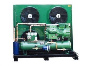 Cold Storage Room Condensing unit with 35HP Bitzer compressor unit manufacturer 6HE-35