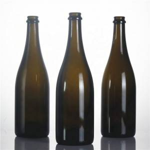 Customized screw cap wine bottle