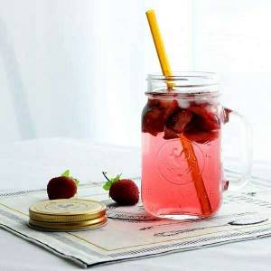 Food Grade Large Heat Resistant Sealing Glass Food mason Jar Storage glass jar