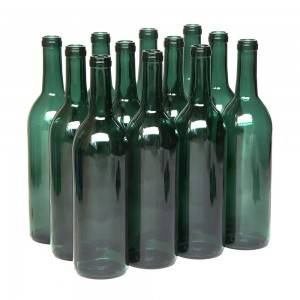 Wholesale red wine glass bottles