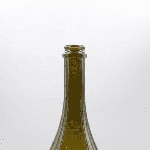 Supply premium burgundy wine bottle