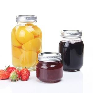 Glass Food mason Jar Storage glass jar