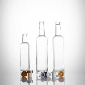 Glass Olive Oil Bottles with lid