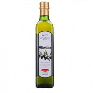 Edible Green Glass Olive Oil Bottles