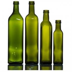 Nice price hot sell kitchen cooking olive oil glass bottle