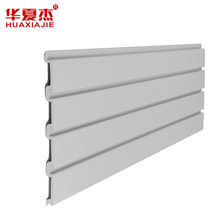 PVC slatwall panel for shoe display used