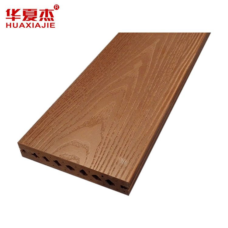 Super Lowest Price Composite Decking Sheet - Wholesale Products China WPC decking prices tiles outdoor – Huaxiajie