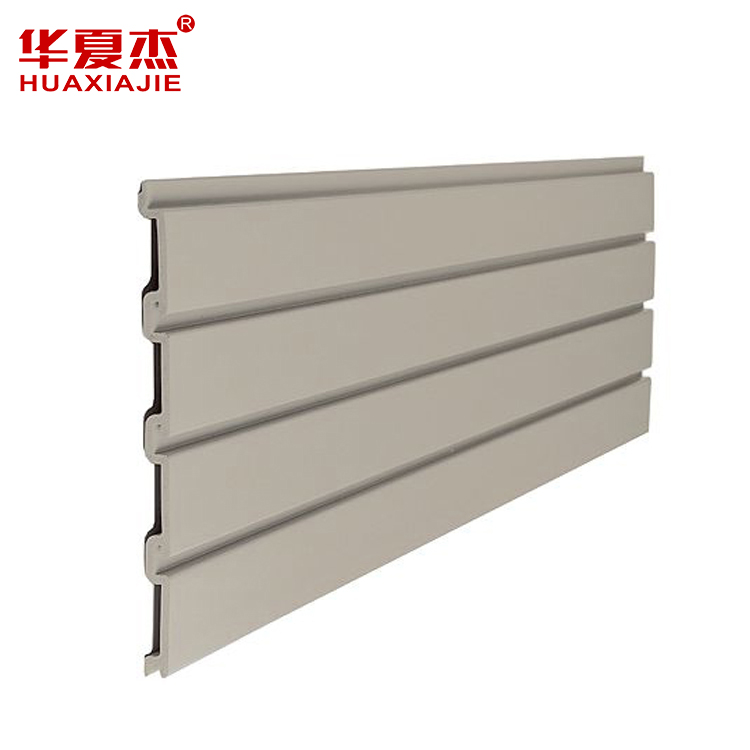 Factory Supply PVC Profiles - PVC slatwall panel for shoe display used – Huaxiajie