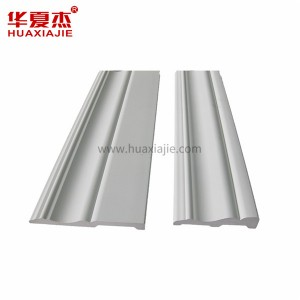 100% cellular vinyl PVC mouldings PVC Profile for home decoration