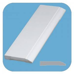 Wholesale products pvc baseboard moulding picture frame moulding skirting board