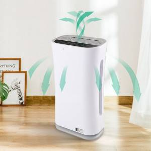 Air Purifier with H13 True HEPA Filter for Home and Smokers in Bedroom