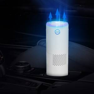 Portable True HEPA Air Purifier Low Noise Air Purifiers for Car Home Office Pets