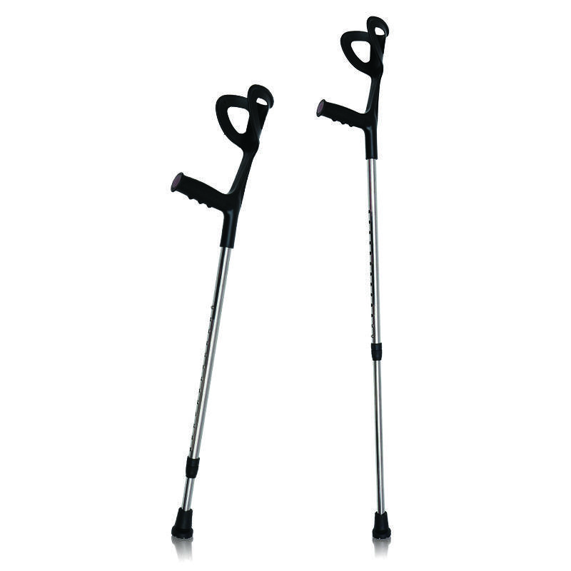 Medical orthopedic height adjustable aluminum forearm walking elbow crutches  for disabled Featured Image