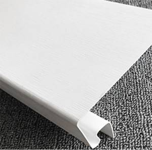 Competitive Price for Green Building Construction Materials - PVC Exterior Wall Siding Door/Window Cover – Marlene