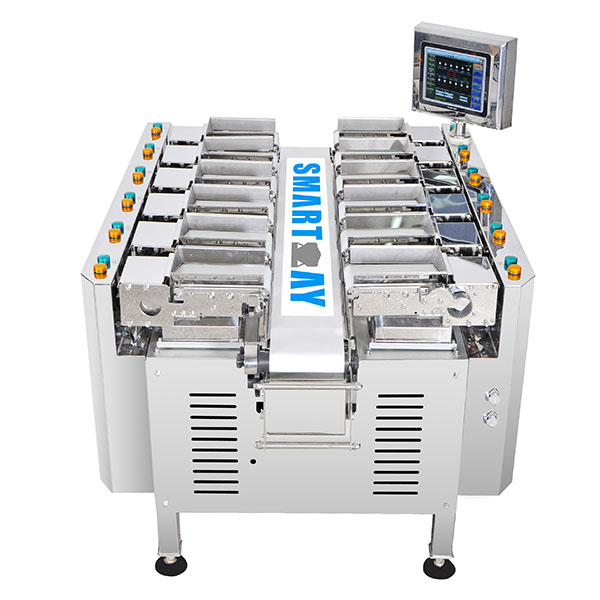 Good Quality Combination Weigher – 12 Head Linear Combination Weigher SW-LC12 For Meat – Smart Weigh