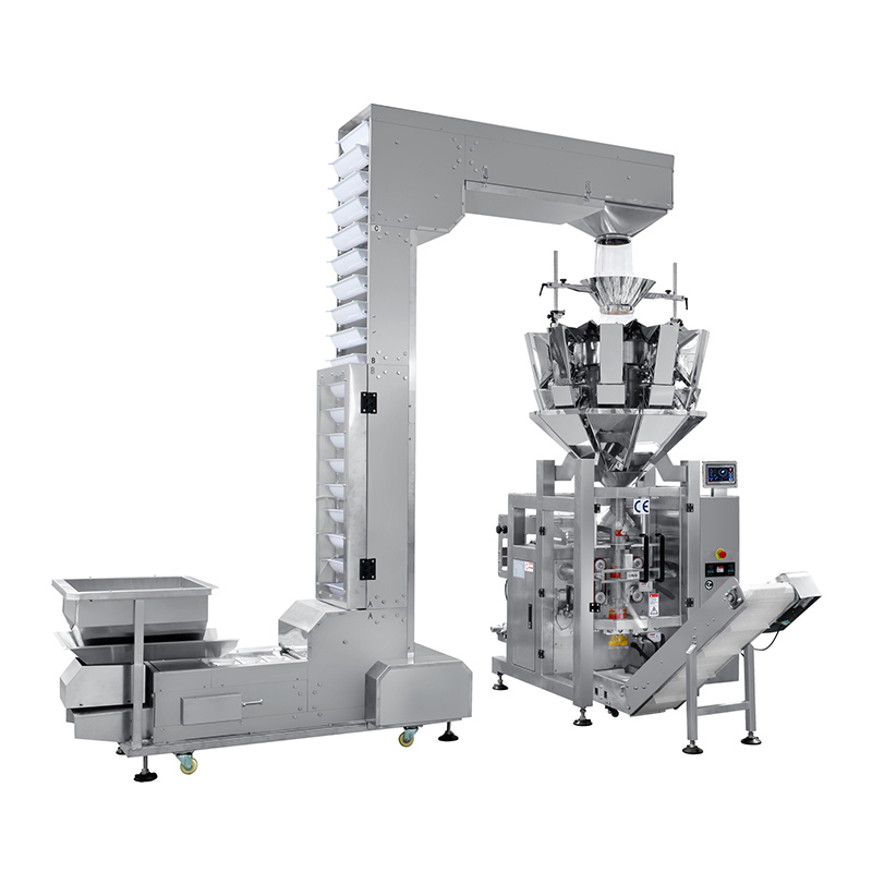 OEM/ODM Factory Vffs Packing Machine - 10 head multihead weigher packing machine combination machine SW-M10P42 – Smart Weigh