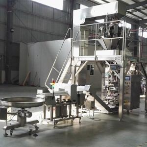 Lollipop candy mint candy hard candy packing machine