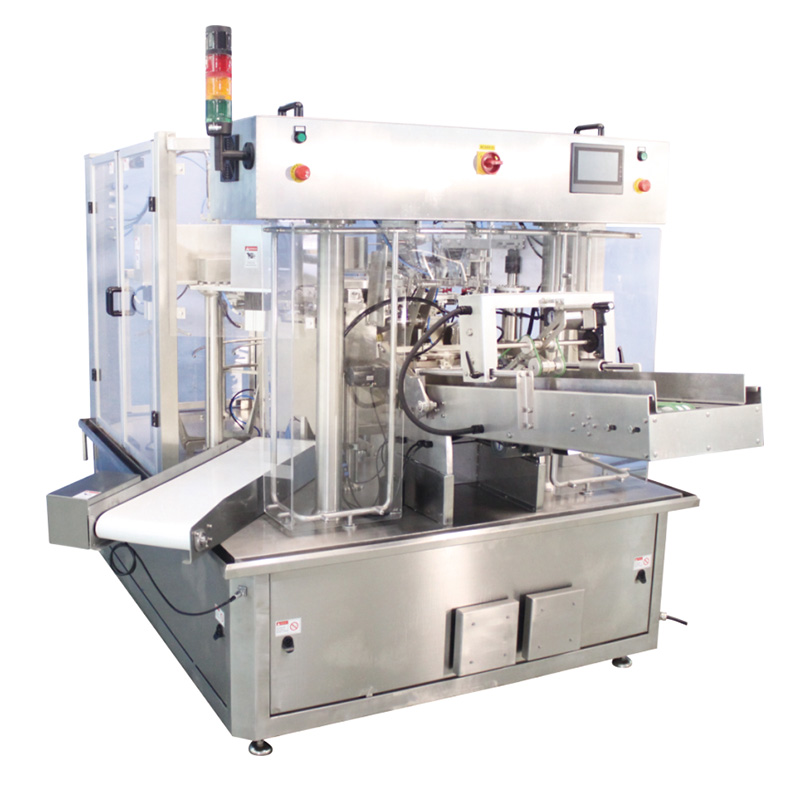 OEM Factory for Chip Packaging Machine - Rotary pouch packing machine 8 working station – Smart Weigh