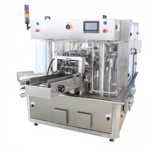 Well-designed Small Packaging Machine - Rotary pouch packing machine 8 working station – Smart Weigh