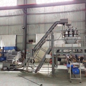 Iron nails screws multihead weigher packing machine box filling machine