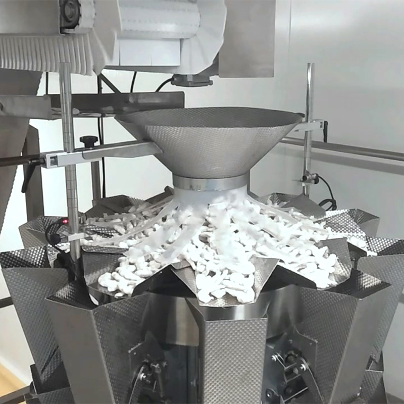 Wholesale Price Cashew Nut Packing Machine - frozen fresh seafood shrimp multihead weigher packing machine line – Smart Weigh