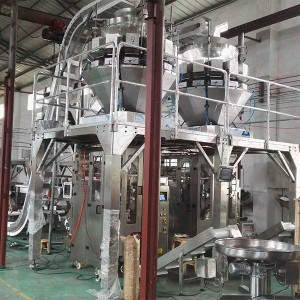 Vegetables Salad Vertical Packing Machine