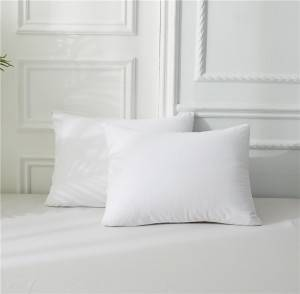 Factory wholesale Ticking Stripe Pillow Covers - 100% Polyester Terry Pillow Protector – Spring-Tex