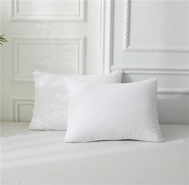 Professional China  Pillow Cover/Pillowcase - 100% Polyester Terry Pillow Protector – Spring-Tex