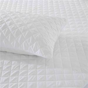 Cheap PriceList for 12 Inch Pillow Covers - Polyester Microfiber Quilted Pillow Protector Pillow Cover – Spring-Tex