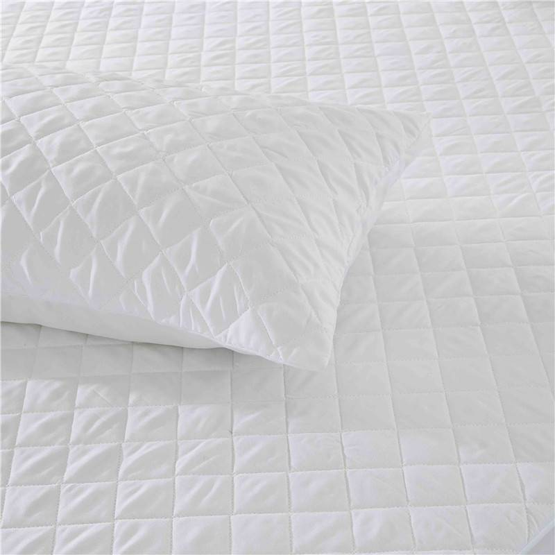 OEM/ODM Supplier 16 By 16 Pillow Covers - Polyester Microfiber Quilted Pillow Protector Pillow Cover – Spring-Tex
