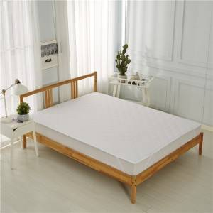 China wholesale Twin Xl Mattress Cover Waterproof - 100% Polyester Microfiber Quilt Mattress Pad – Spring-Tex