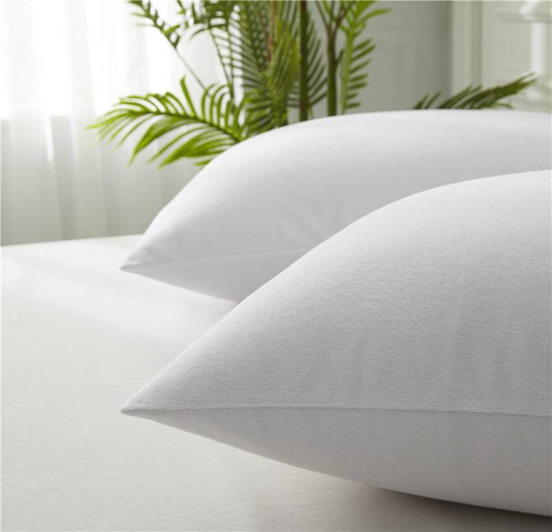 Cheapest Price  Toddler Mattress Cover - 100% Polyester Terry Pillow Protector – Spring-Tex