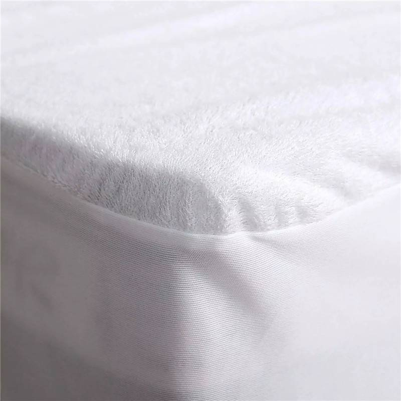 Leading Manufacturer for Mattress Topper Protector - Durable Anti Bed Bugs Luxury King Size Hypoallergenic Waterproof Mattress Protector – Spring-Tex
