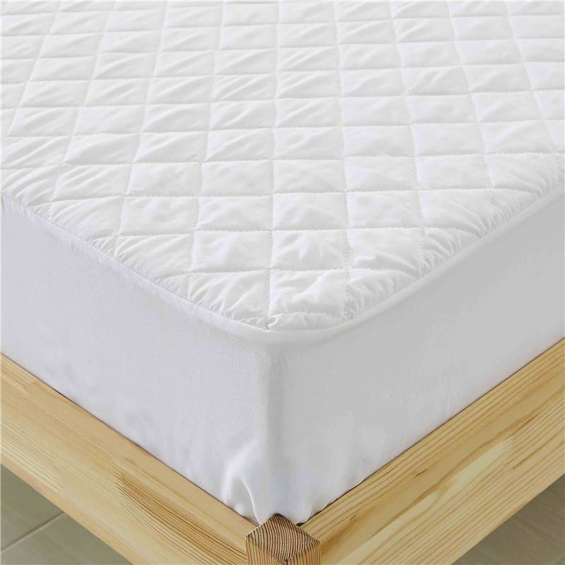 Trending Products  Double Mattress Cover With Zip - 100% Polyester Microfiber Quilt Mattress Cover – Spring-Tex