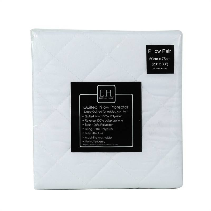 Super Lowest Price Pillow Covers 20 Inch - Polyester Microfiber Quilted Pillow Protector Pillow Cover – Spring-Tex