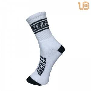 Custom Design Sport Crew Sock/Custom Cushioned Athletic Socks Supplier