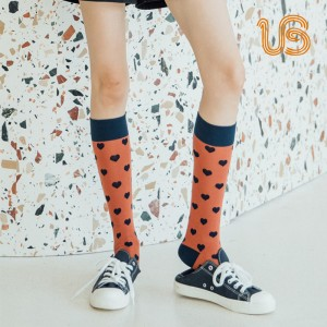 Women Custom Design Knee Sock Professional made In China