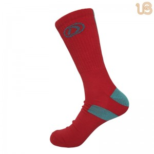 Semi-Terry Crew Sock/Terry Sport Sock For Women & Men