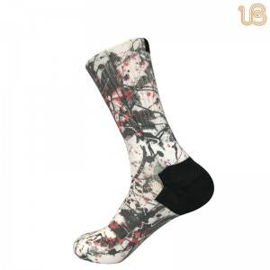 Cushion Print Sock