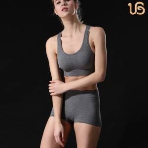 Wholesale Price Sports Bra For Exercise - Solid Color Seamless Sports Underwer – Ubuy