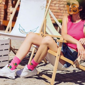 Women Fashion Design Sock