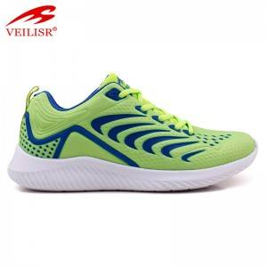 5D mesh upper breathable fashion men's sneakers