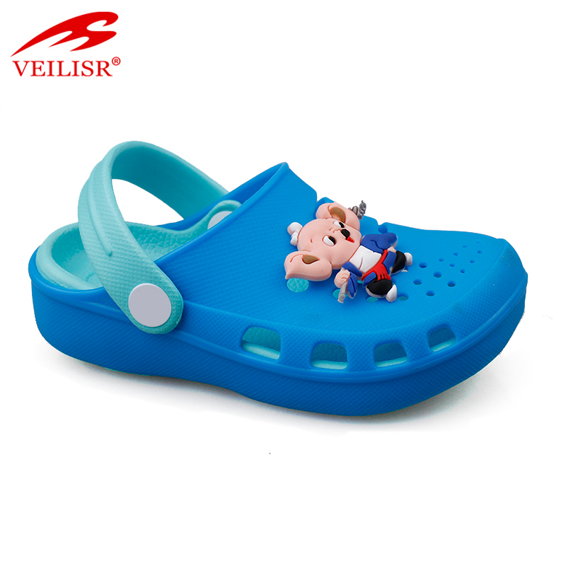 Outdoor summer beach silicone children sandals garden kids clogs Featured Image