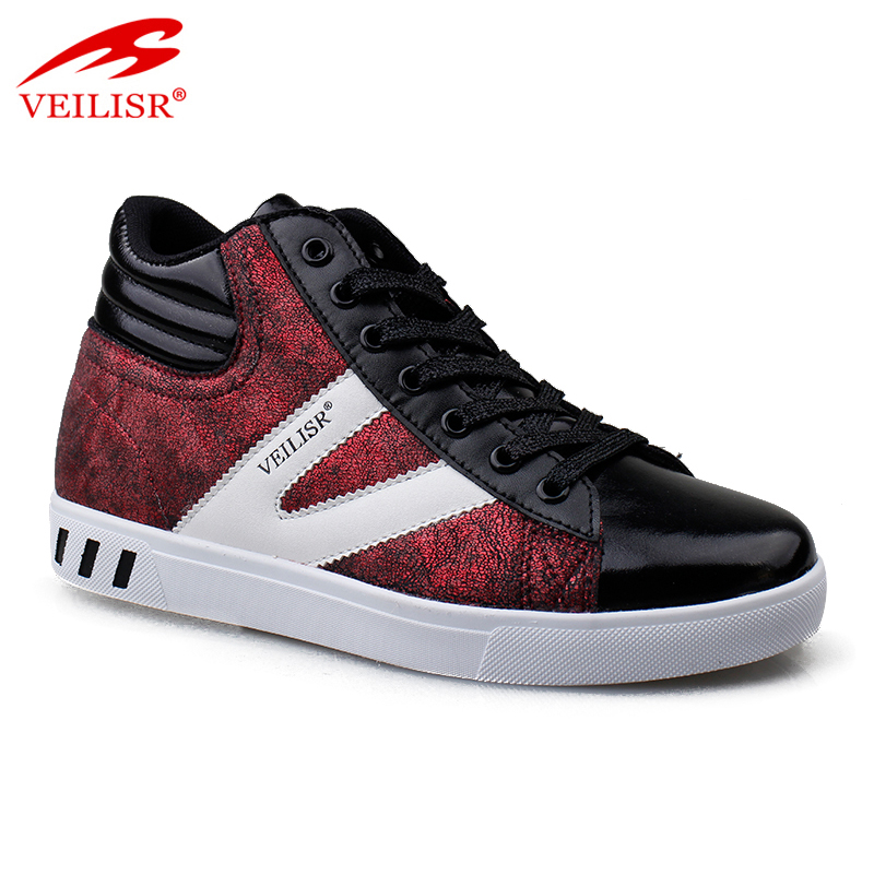 Zapatillas Hot Selling Factory price Amazon hot selling 2019 new fashion PU upper ladies casual sport shoes women sneakers