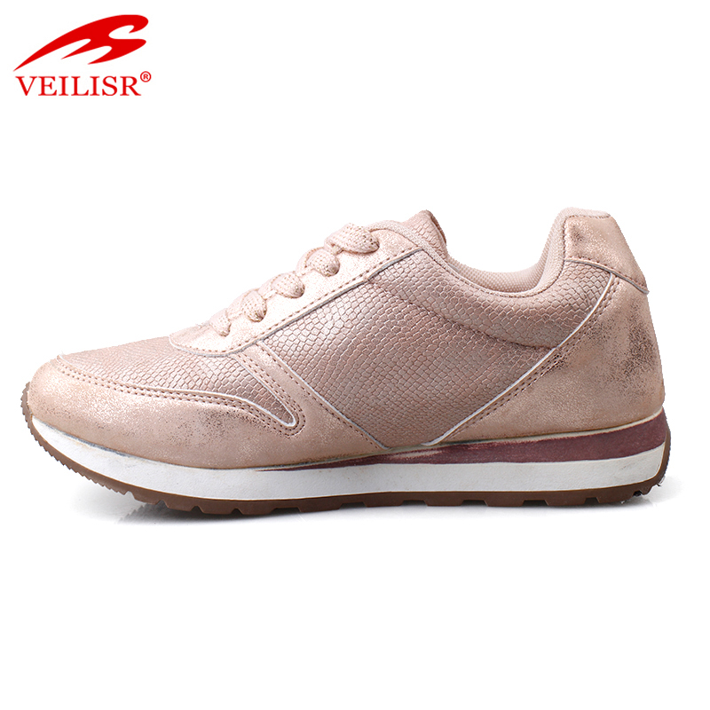 Zapatos casuales new PU upper casual shoes women fashion sneakers