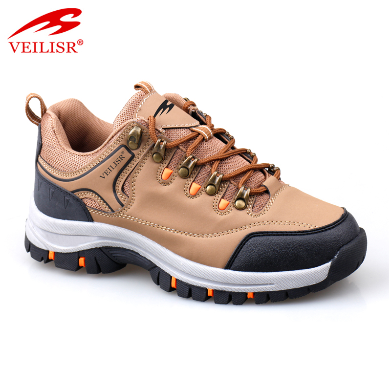 Zapatos outdoor PU oxford trekking sneakers men hiking shoes