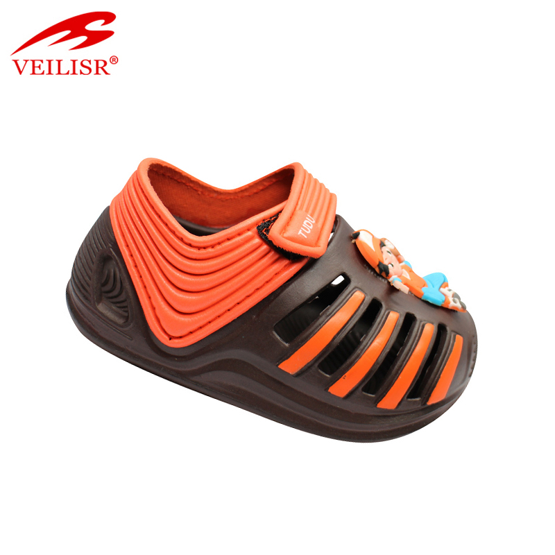 New arrival High quality Fashionable Anti Slippery cheap summer children beach EVA sandals kids garden clogs